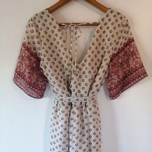 🌻3/$20 Faux wrap summer dress